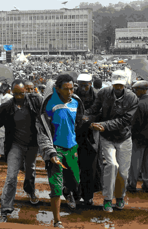 Semayawi party members attacked by Ethiopian security forces