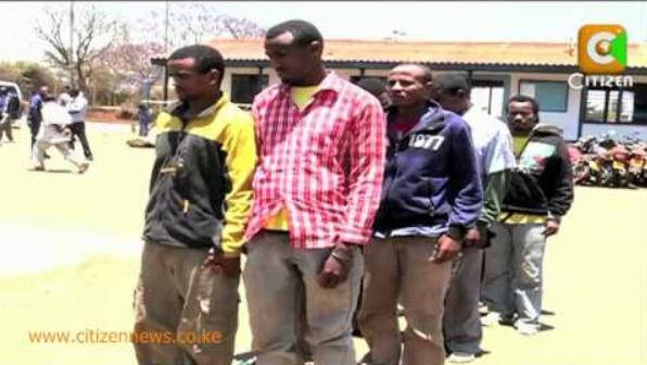 11 Ethiopians arrested in Embu, Kenya