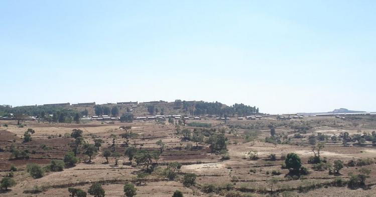 Aykel town Ethiopia