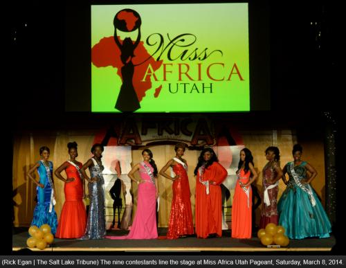 Mis Africa Utah March 2014