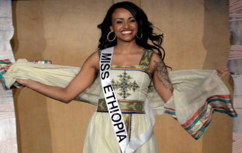 Miss Ethiopia Muluwerk Hale