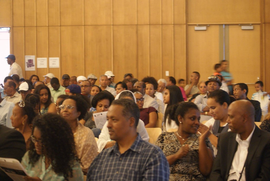 Some of the attendees at the EHSNA celebrations