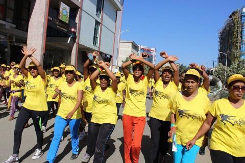 Semayawi Women  Demonstration