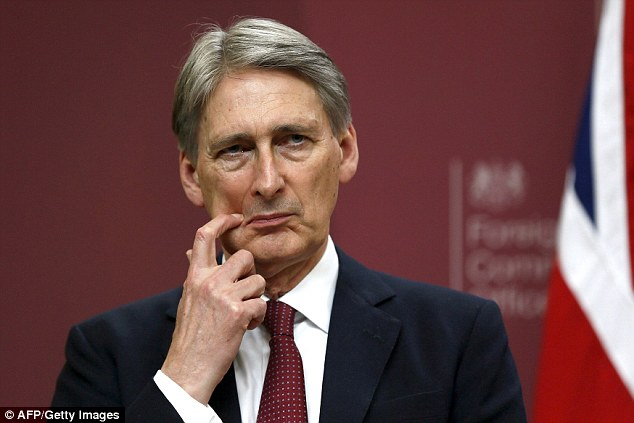 """I have no time"" for this UK Secretary Hammond"