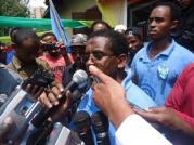 Semayawi Party demonstration, Addis Ababa, Ethiopia - Sep. 22, 2013